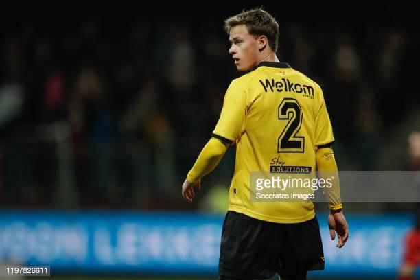 Robin Schouten of NAC Breda during the Dutch Keuken Kampioen Divisie match between Excelsior v NAC Breda at the Van Donge & De Roo Stadium on January...
