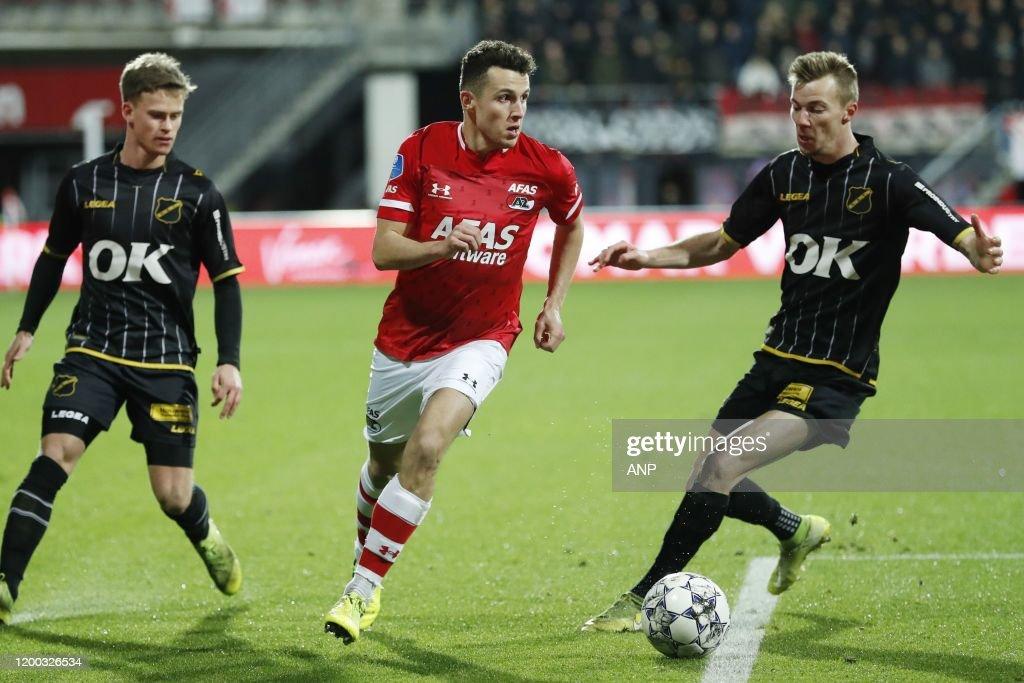 "Dutch Toto KNVB Cup""AZ Alkmaar v NAC Breda"" : News Photo"