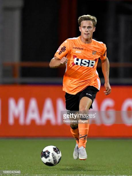 Robin Schouten of Volendam during the Dutch Keuken Kampioen Divisie match between FC Volendam v TOP Oss at the Kras Stadium on September 14 2018 in...