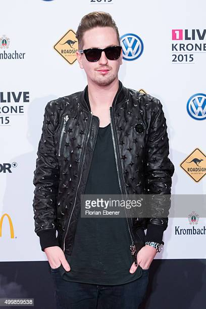 Robin Schulz attends the 1Live Krone 2015 at Jahrhunderthalle on December 3 2015 in Bochum Germany
