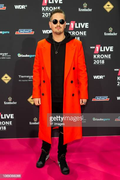 Robin Schulz attends the 1Live Krone radio award at Jahrhunderthalle on December 6 2018 in Bochum Germany
