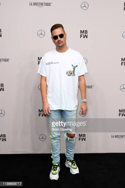Robin Schulz attends the #damur show during the Berlin Fashion Week Spring/Summer 2020 at ewerk on July 02 2019 in Berlin Germany