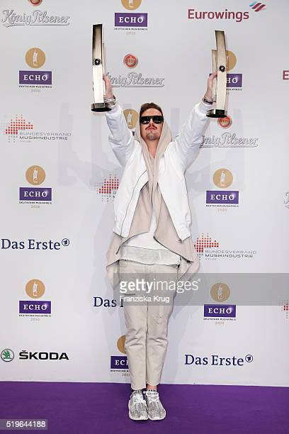 Robin Schulz attends the Koenig Pilsener At Echo Award 2016 on April 07 2016 in Berlin Germany