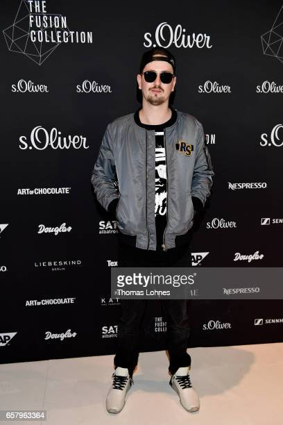 Robin Schulz attends the sOliver THE FUSION COLLECTION Fashion Show at Festhalle on March 25 2017 in Frankfurt am Main Germany