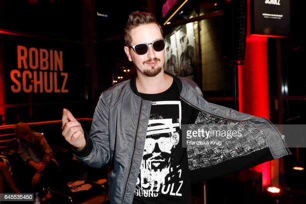 Robin Schulz during the 'Robin Schulz The Movie' world premiere at Cinemaxx on February 24 2017 in Hamburg Germany