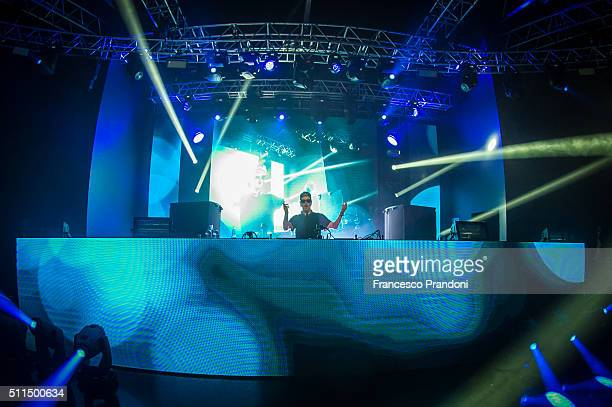 Robin Schulz performs at Fabrique on February 20 2016 in Milan Italy