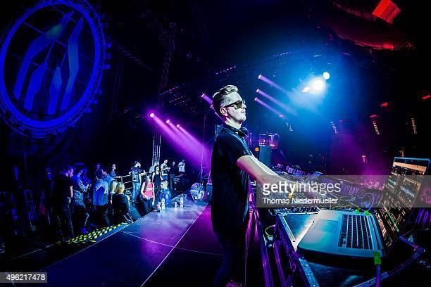 DJ Robin Schulz performs at Mayday 2015 music festival at Spodek on November 8 2015 in Katowice Poland