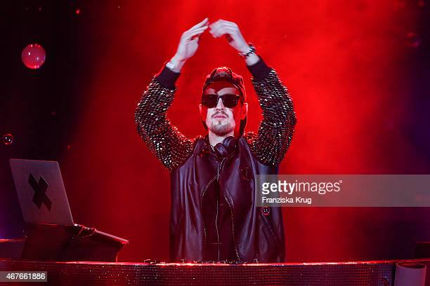 Robin Schulz performs at the Echo Award 2015 show on March 26 2015 in Berlin Germany