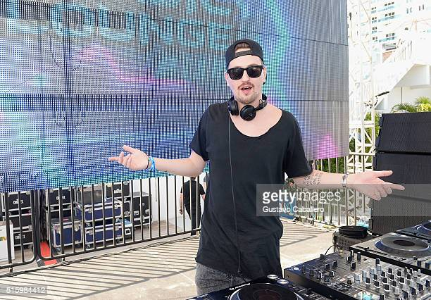 Robin Schulz performs live at SiriusXM Celebrates 10th Anniversary Of The SiriusXM Music Lounge At 1 Hotel South Beach Leading Up To Ultra Music...