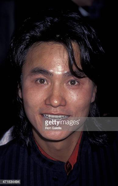 """Robin Shou attends the world premiere of """"Mortal Kombat"""" on August 16, 1995 at Mann Chinese Theater in Hollywood, California."""