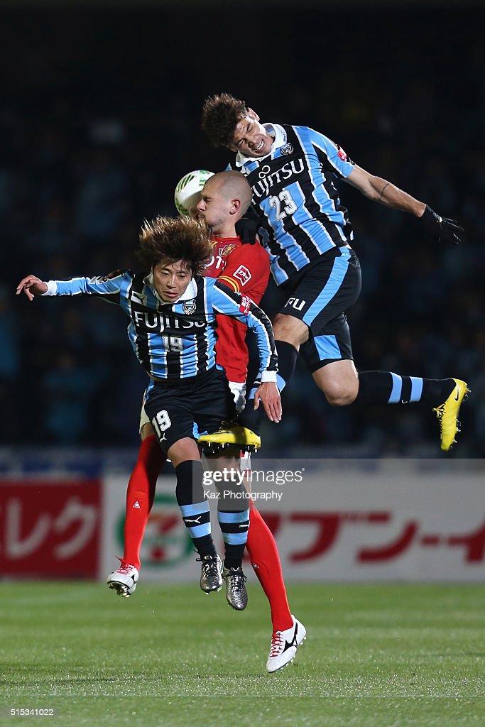 Kawasaki Frontale v Nagoya Grampus - J.League : ニュース写真