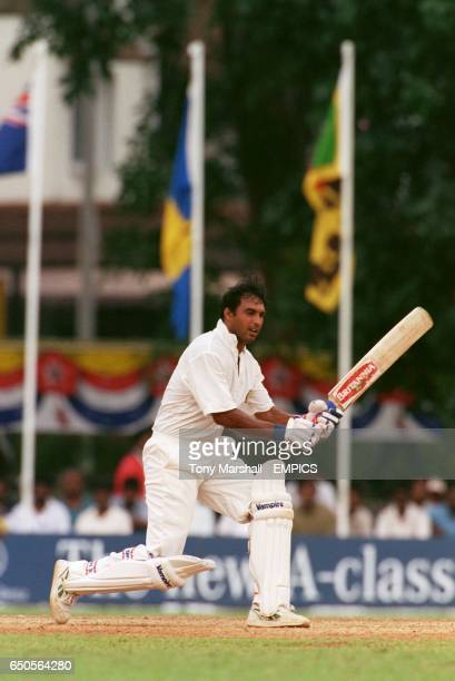 Robin Singh of India batting