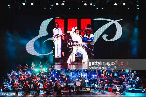 Robin Smith conducts Elvis in concert with the Royal Philharmonic Orchestra at First Direct Arena on November 18, 2016 in Leeds, United Kingdom.