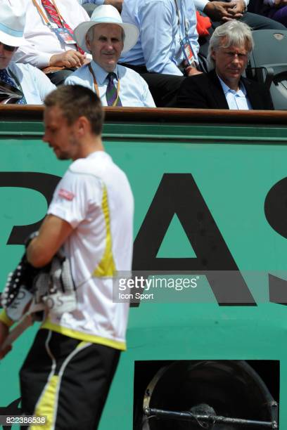 Robin SODERLING / Bjorn BORG 1/2 Finale Roland Garros 2009
