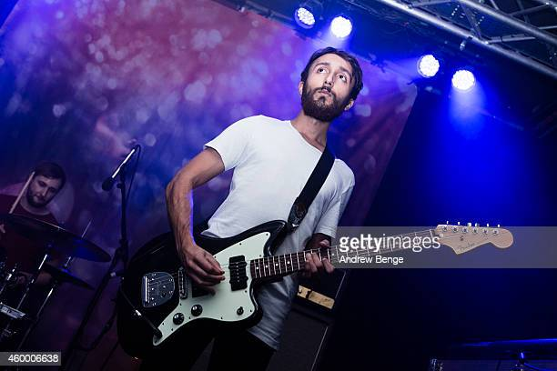 Robin Southby of Maybeshewill performs on stage at Belgrave Music Hall on December 5 2014 in Leeds United Kingdom