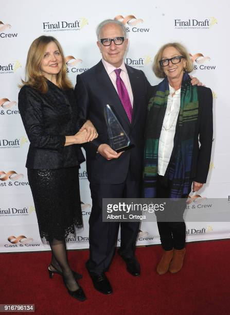 Robin Swicord Howard A Rodman and Michelle Satter at the 13th Annual Final Draft Awards held at Paramount Theatre on February 8 2018 in Hollywood...
