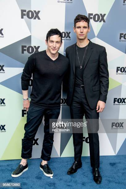 Robin Taylor and Cory Michael Smith attends the 2018 Fox Network Upfront at Wollman Rink, Central Park on May 14, 2018 in New York City.