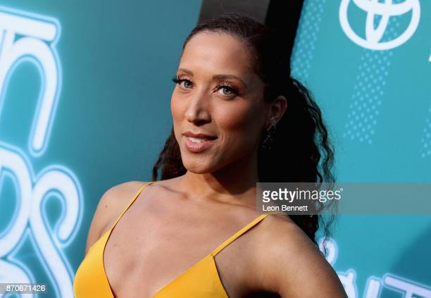 Robin Thede attends the 2017 Soul Train Awards presented by BET at the Orleans Arena on November 5 2017 in Las Vegas Nevada