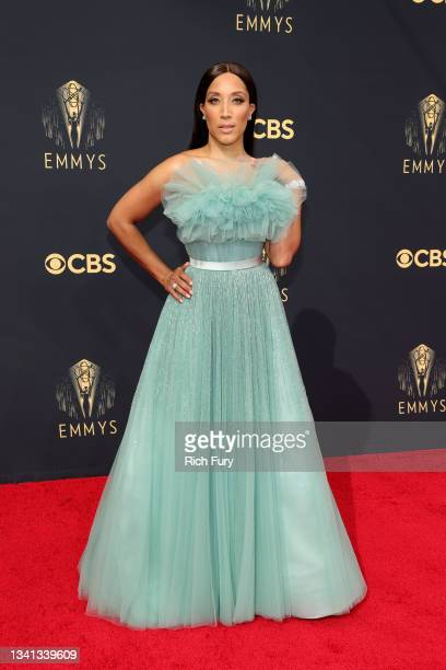 Robin Thede attends the 73rd Primetime Emmy Awards at L.A. LIVE on September 19, 2021 in Los Angeles, California.