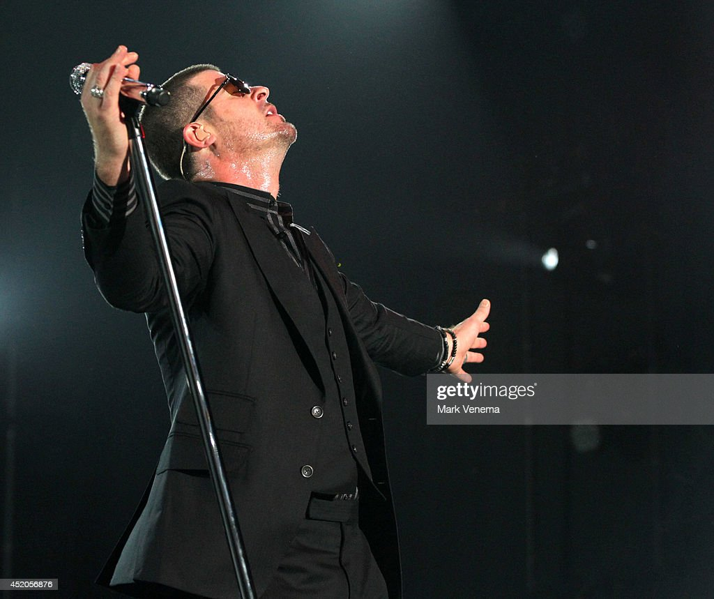 Robin Thicke performs at Day 1 of North Sea Jazz Festival at Ahoy on July 11, 2014 in Rotterdam, Netherlands.