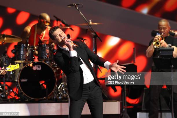 Robin Thicke performs during the THE GRAMMY NOMINATIONS CONCERT LIVE Ñ COUNTDOWN TO MUSIC'S BIGGEST NIGHT¨ broadcast Friday Dec 6 on the CBS...
