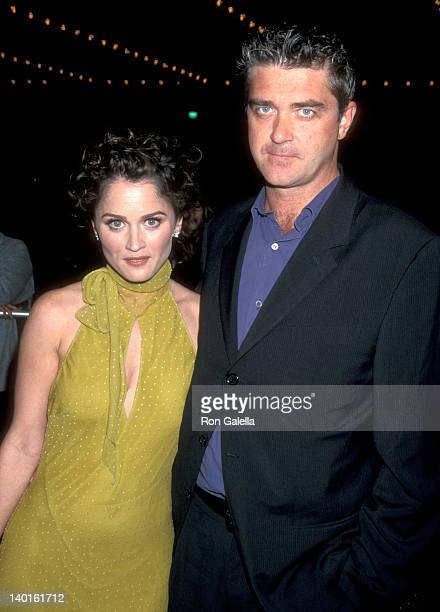 Robin Tunney and Bob Gosse at the Premiere of 'Vertical Limit' Cineplex Odeon Century Plaza Cinema Century City