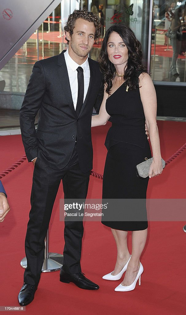 Robin Tunney and Nicky Marmet attend the closing ceremony of the 53rd Monte Carlo TV Festival on June 13, 2013 in Monte-Carlo, Monaco.