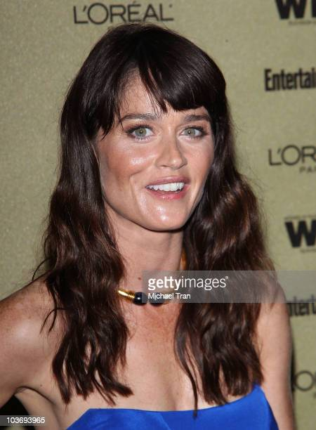 Robin Tunney arrives at the Entertainment Weekly and Women In Film preEMMY party held at The Sunset Marquis Hotel on August 27 2010 in West Hollywood...