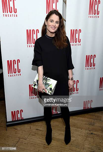 Robin Tunney attends Smokefall opening night after party at SushiSamba 7 on February 22 2016 in New York City