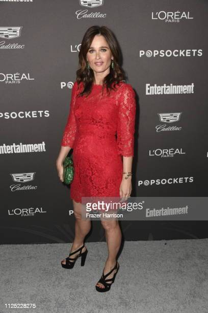 Robin Tunney attends the Entertainment Weekly PreSAG Party at Chateau Marmont on January 26 2019 in Los Angeles California