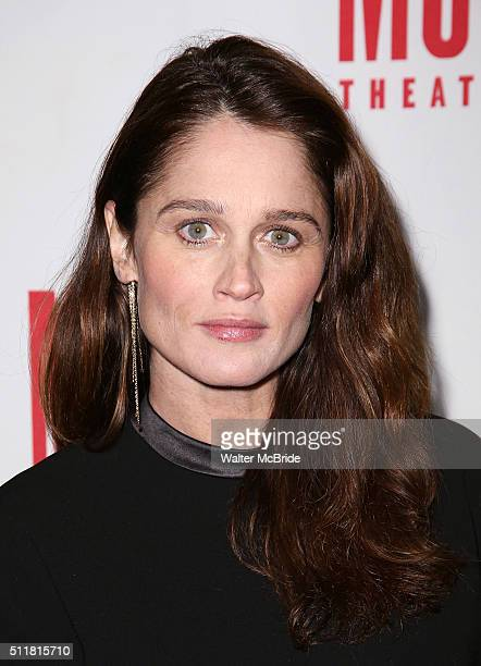 Robin Tunney attends the OffBroadway opening night After Party for 'Smokefall' at Sushisamba on February 22 2016 in New York City