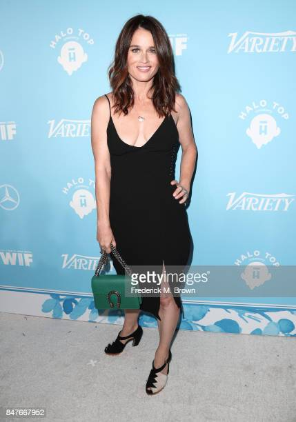 Robin Tunney attends the Variety and Women In Film's 2017 PreEmmy Celebration at Gracias Madre on September 15 2017 in West Hollywood California