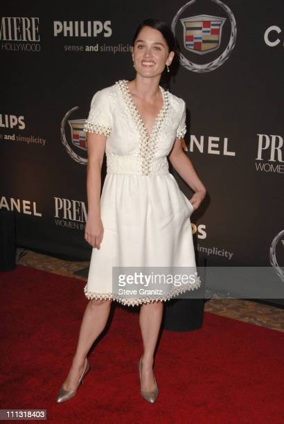 Robin Tunney during 13th Annual Premiere Women in Hollywood Arrivals at Beverly Hills Hotel in Beverly Hills California United States
