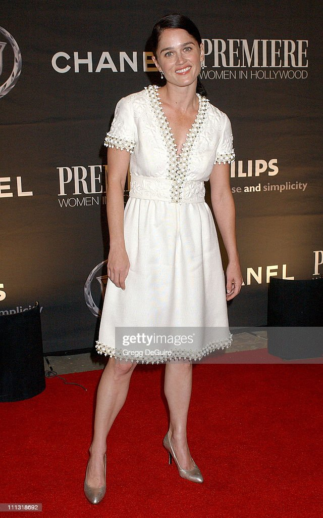 Robin Tunney during 13th Annual Premiere Women in Hollywood - Arrivals at Beverly Hills Hotel in Beverly Hills, California, United States.