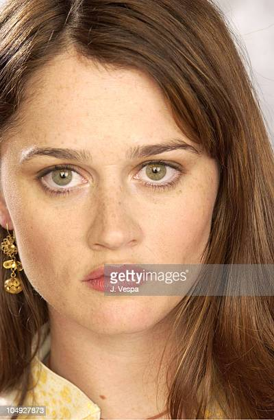 Robin Tunney during 2002 Sundance Film Festival Cherish Portraits at Harry O's in Park City Utah United States