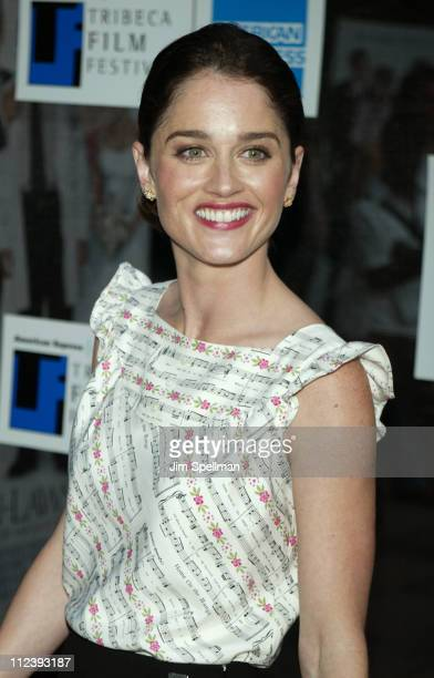 Robin Tunney during 2003 Tribeca Film Festival Premiere of The InLaws at Tribeca Performing Arts Center in New York City New York United States