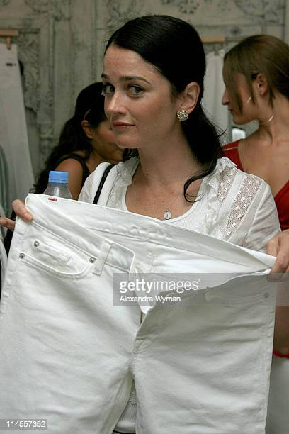 Robin Tunney during 7 For All Mankind WhiteHot Summer Luncheon Celebrating Summer Whites at SUR in Beverly Hills California United States