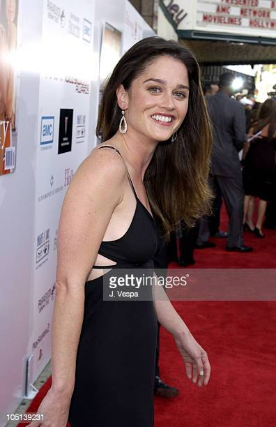 Robin Tunney during AMC Movieline's Hollywood Life Magazine's Young Hollywood Awards Red Carpet at El Rey Theatre in Los Angeles California United...