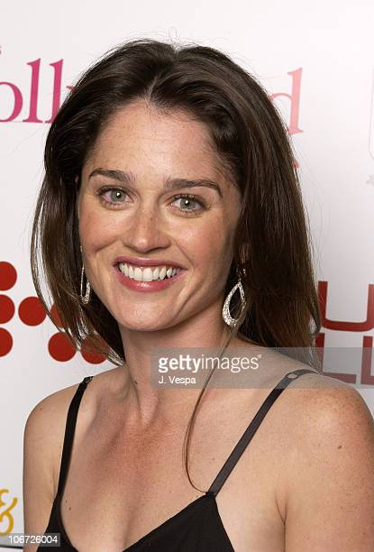 Robin Tunney during AMC Movieline's Hollywood Life Magazine's Young Hollywood Awards Portrait Gallery at El Rey Theatre in Los Angeles California...