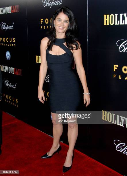 Robin Tunney during Hollywoodland Los Angeles Premiere Arrivals at Academy of Motion Picture Arts and Sciences in Beverly Hills California United...