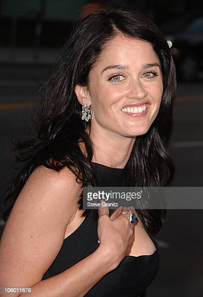Robin Tunney during Hollywoodland Los Angeles Premiere Arrivals at Academy Theatre in Beverly Hills California United States