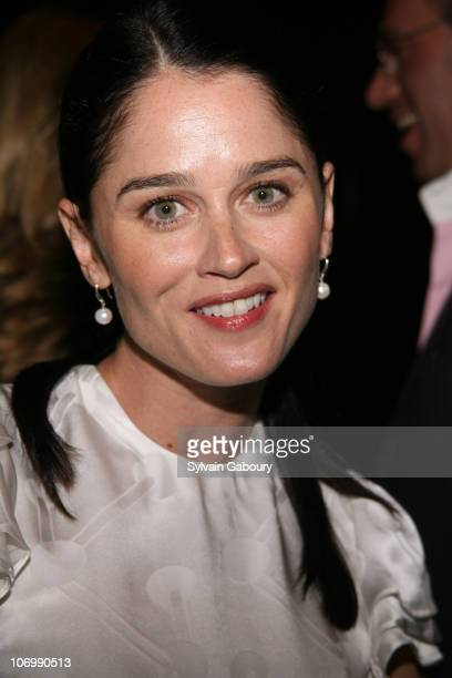 Robin Tunney during The Cinema Society and Guerlain Presented a Screening of 'The Black Dahlia' Arrivals at Tribeca Grand Screening Room in New York...