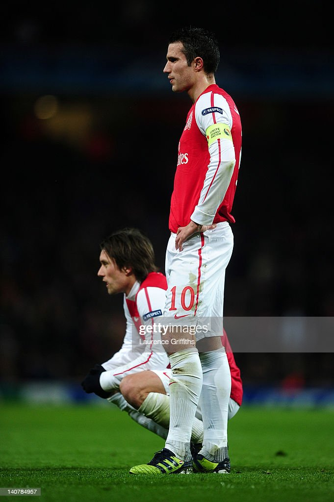 Arsenal FC v AC Milan - UEFA Champions League Round of 16 : ニュース写真