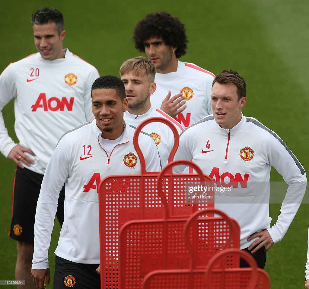 Manchester United Training Session and Press Conference : News Photo
