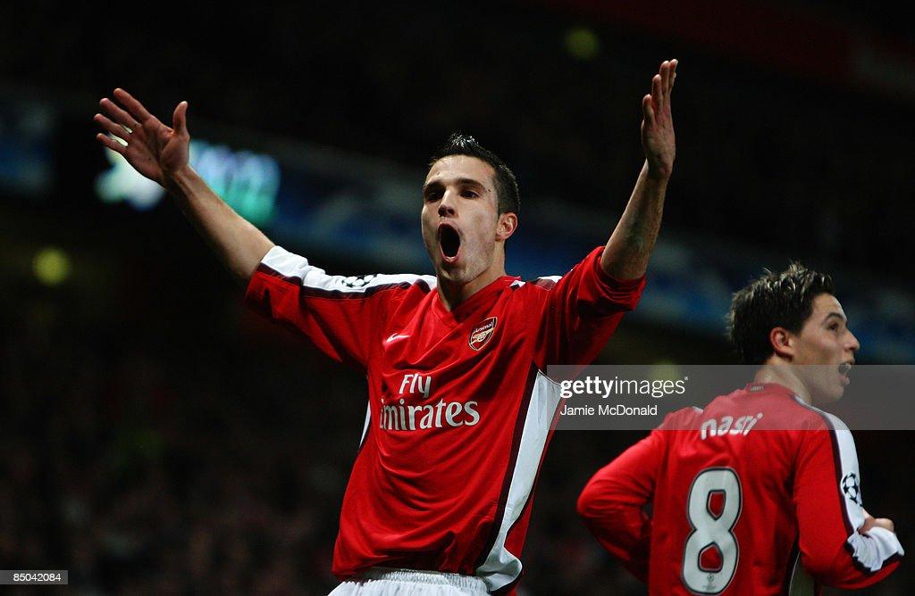 Arsenal v AS Roma - UEFA Champions League : News Photo