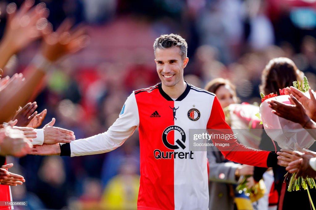 Feyenoord v ADO Den Haag - Dutch Eredivisie : News Photo