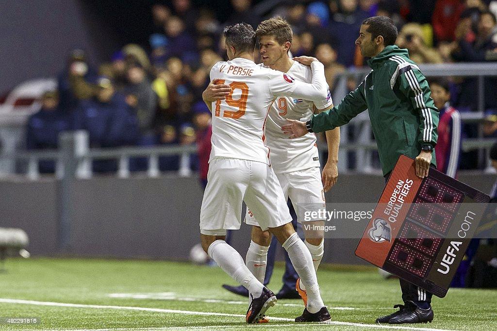 "EURO 2016 qualifier - ""Kazachstan v Netherlands"" : News Photo"