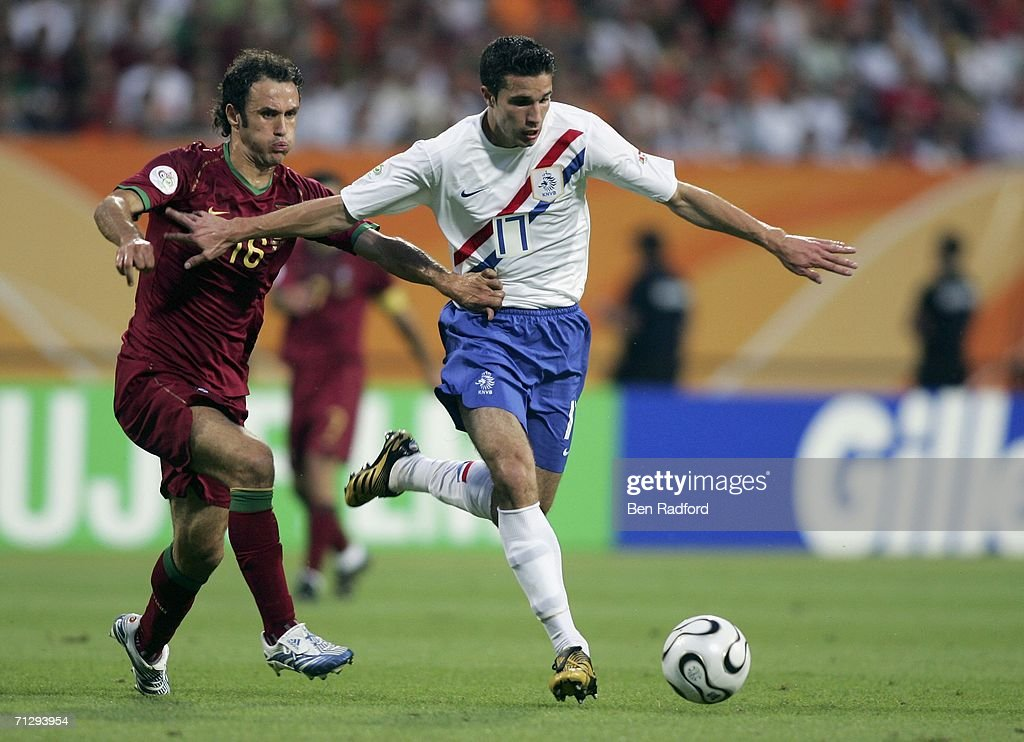 Round of 16 Portugal v Netherlands - World Cup 2006 : News Photo