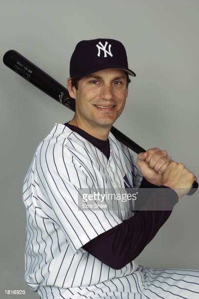 Robin Ventura of the New York Yankees poses for a portrait during the Yankees' spring training Media Day on February 21 2003 at Legends Field in...