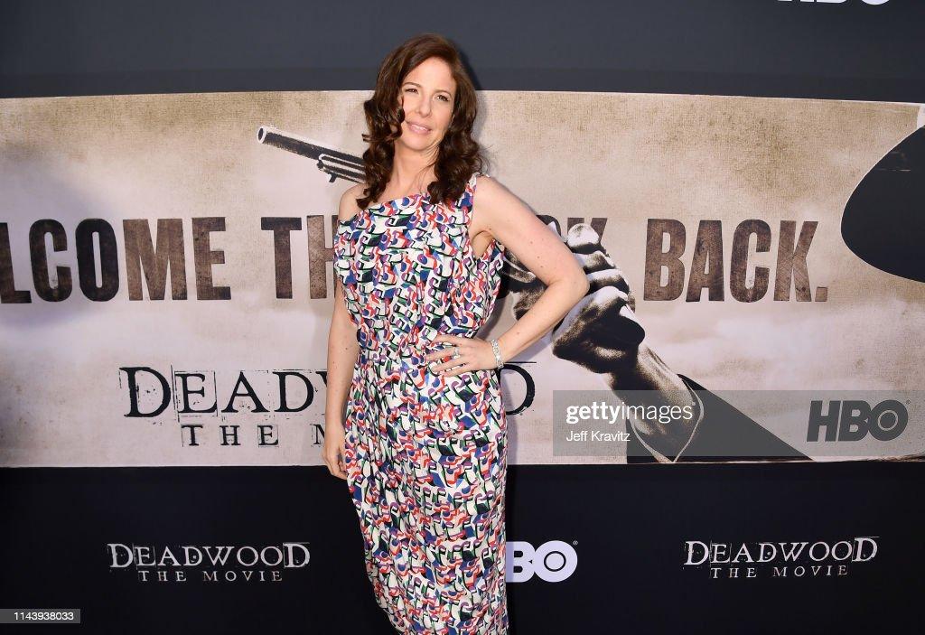 """Deadwood"" Movie Premiere : News Photo"